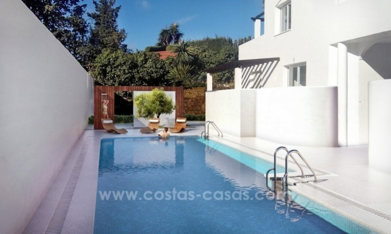 Penthouse for sale. Renovated apartments for sale in the heart of Nueva Andalucía, Marbella 1