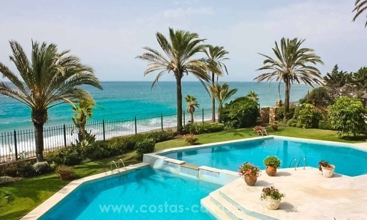 Front Line Beach Palace for sale on The Golden Mile, Marbella 1