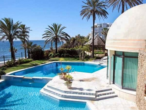 Front Line Beach Palace for sale on The Golden Mile, Marbella