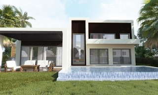 Modern New Villas for sale in gated community in the area of Marbella – Benahavis – Estepona 1