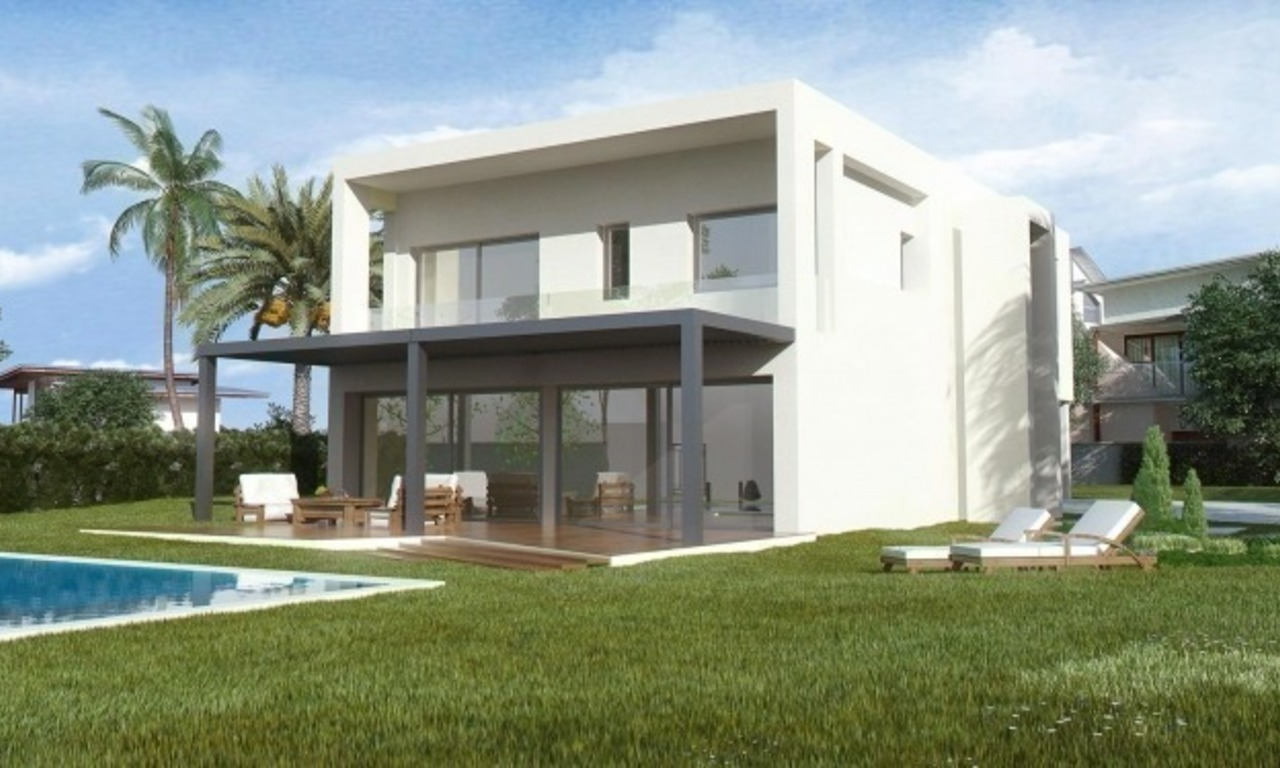 Modern New Villas for sale in gated community in the area of Marbella – Benahavis – Estepona 2