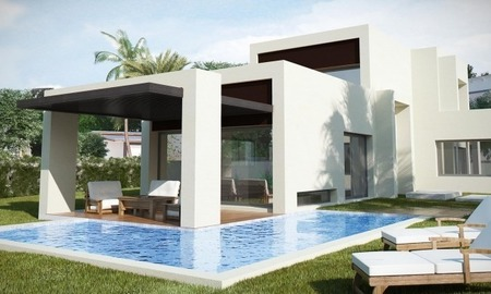 Modern New Villas for sale in gated community in the area of Marbella – Benahavis – Estepona 3
