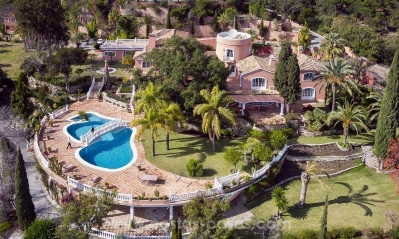 Villa for sale in Benahavis - Marbella: El Madroñal estate on a 11.000m2 flat plot with commanding views 0