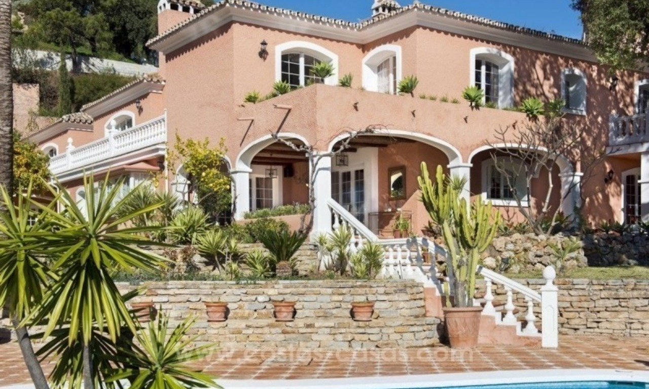 Villa for sale in Benahavis - Marbella: El Madroñal estate on a 11.000m2 flat plot with commanding views 7