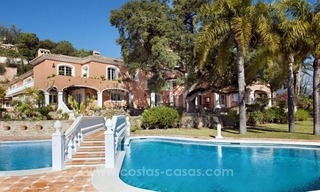 Villa for sale in Benahavis - Marbella: El Madroñal estate on a 11.000m2 flat plot with commanding views 2