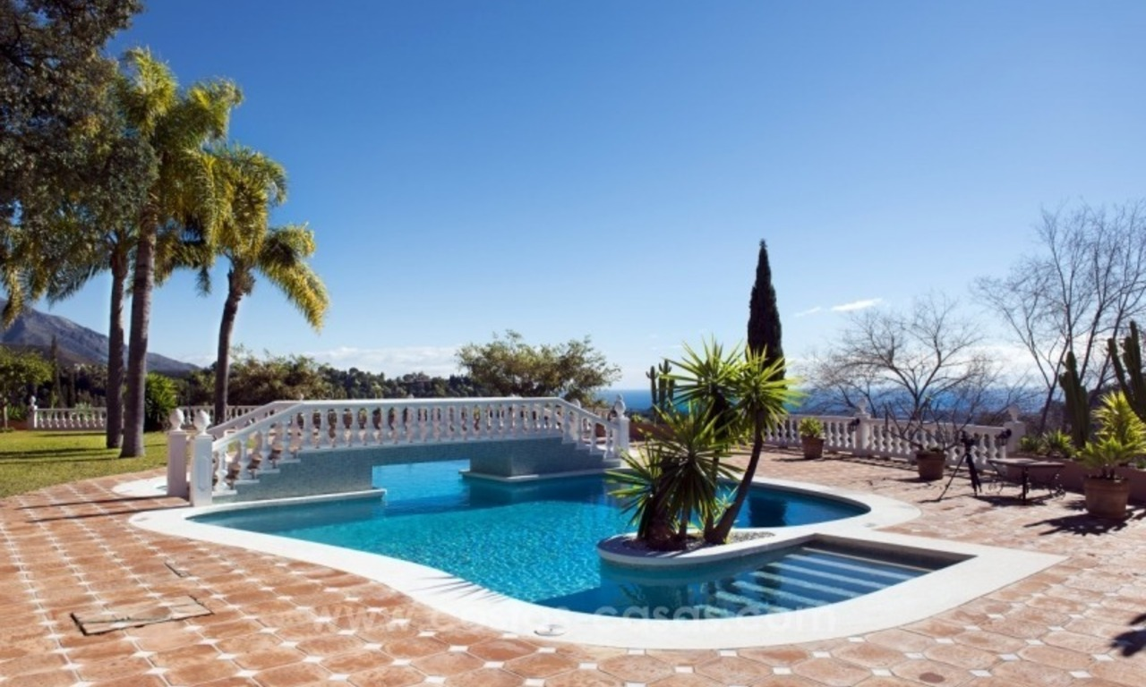 Villa for sale in Benahavis - Marbella: El Madroñal estate on a 11.000m2 flat plot with commanding views 3