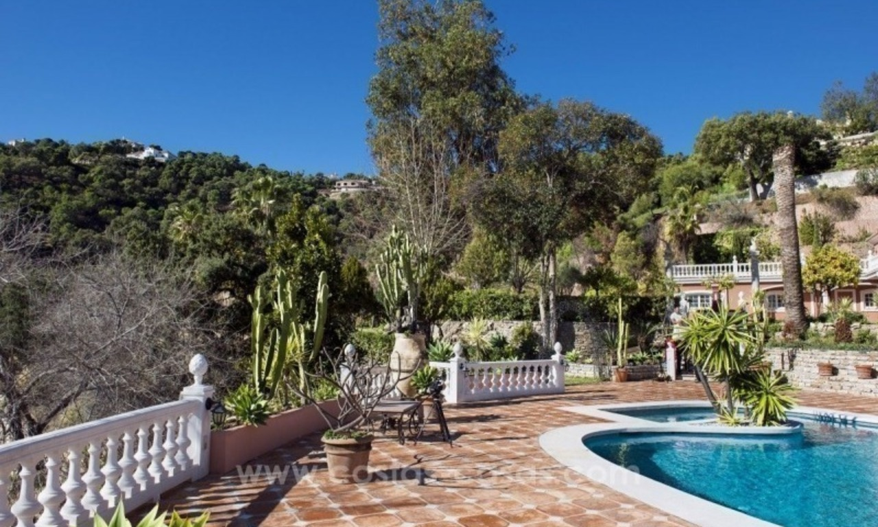 Villa for sale in Benahavis - Marbella: El Madroñal estate on a 11.000m2 flat plot with commanding views 5