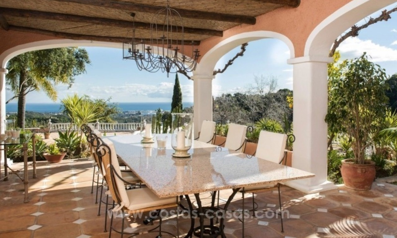 Villa for sale in Benahavis - Marbella: El Madroñal estate on a 11.000m2 flat plot with commanding views 25