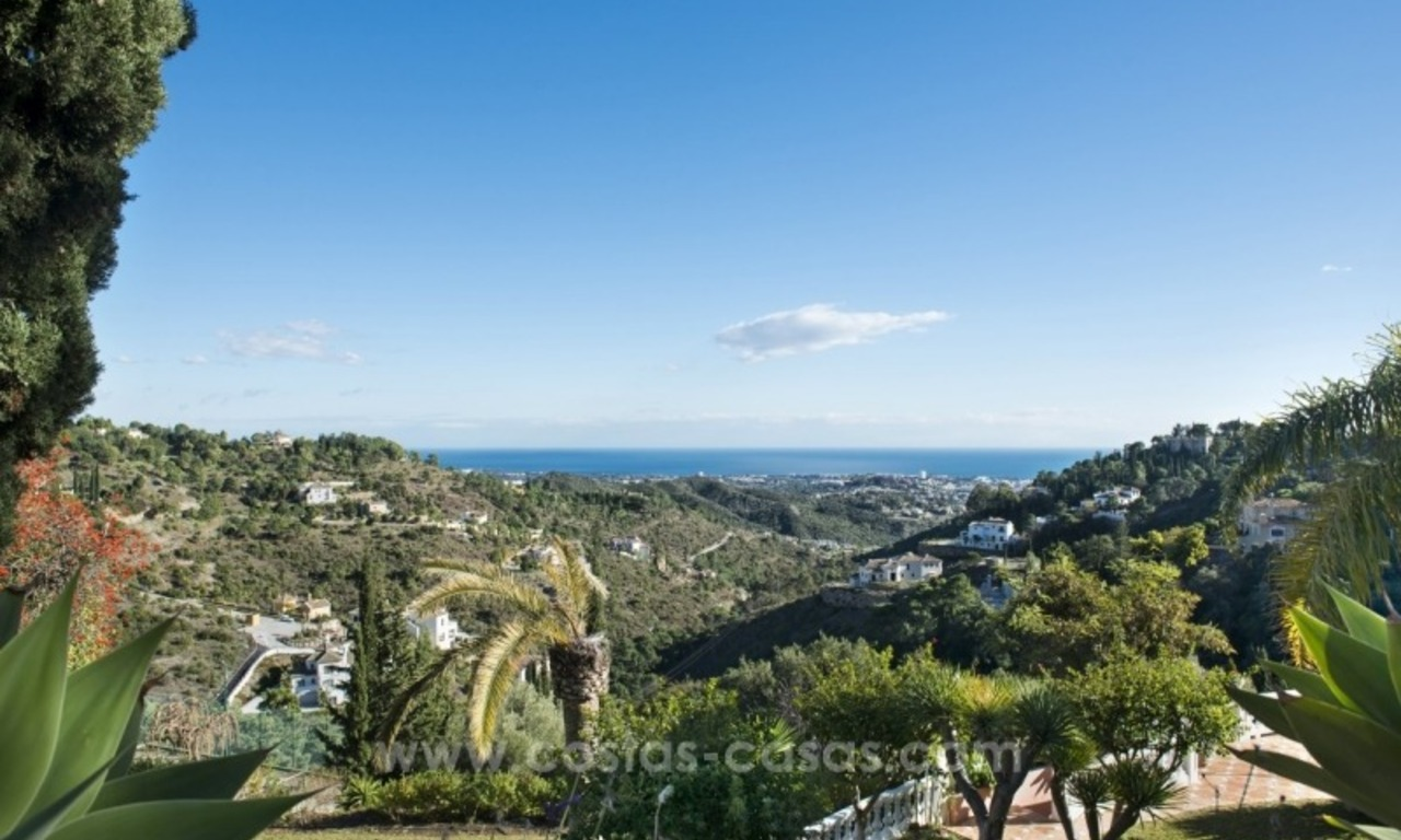 Villa for sale in Benahavis - Marbella: El Madroñal estate on a 11.000m2 flat plot with commanding views 12