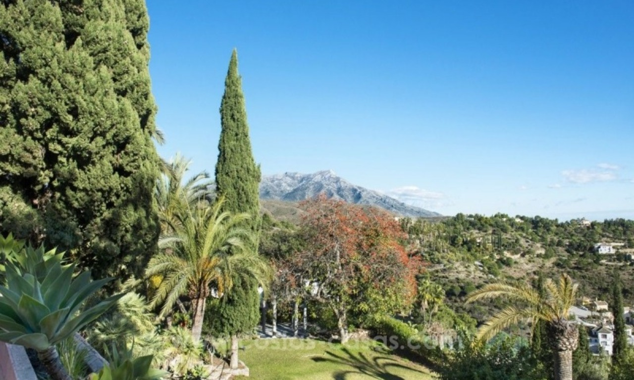 Villa for sale in Benahavis - Marbella: El Madroñal estate on a 11.000m2 flat plot with commanding views 11