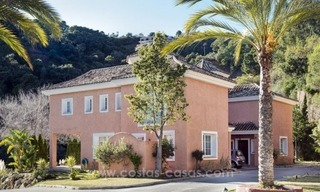 Villa for sale in Benahavis - Marbella: El Madroñal estate on a 11.000m2 flat plot with commanding views 9