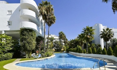 Apartments and penthouses for sale in the center of the Golden Mile, just minutes from the center of Marbella