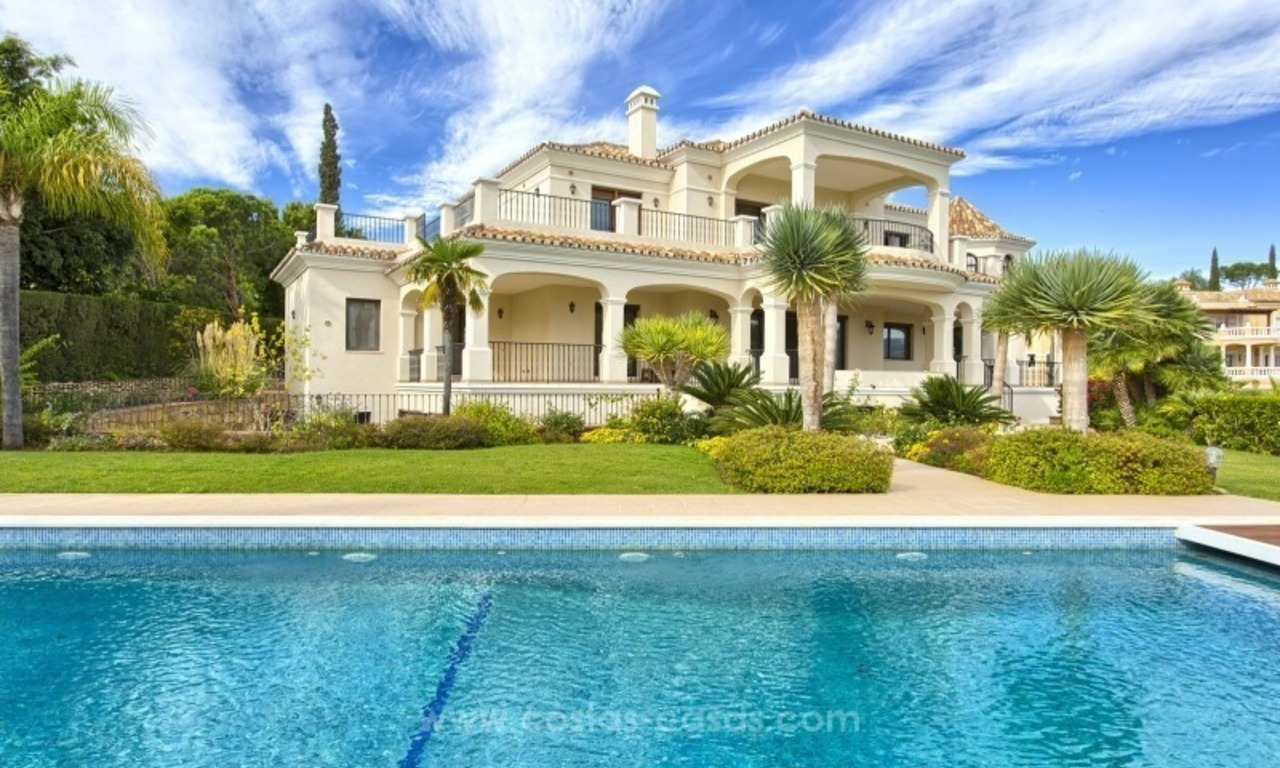 Villa with Panoramic views on the New Golden Mile, Marbella - Estepona 0