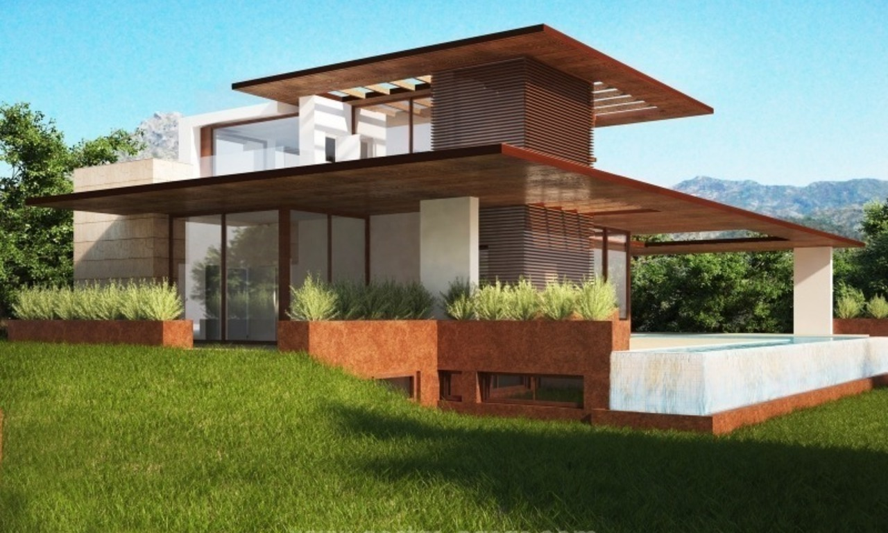 2 Brand new modern villas for sale on the Golden Mile, Marbella 2