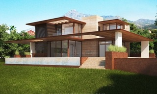 2 Brand new modern villas for sale on the Golden Mile, Marbella 3