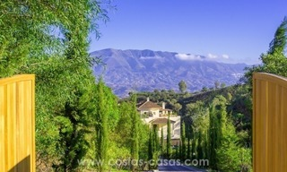 New luxury Andalusian style apartments for sale in Marbella 1