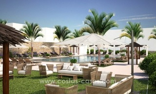 New luxury Andalusian style apartments for sale in Marbella 27