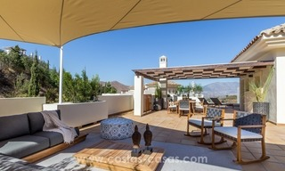 New luxury Andalusian style apartments for sale in Marbella 0