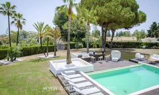 Renovated Modern villa for sale on the Golden Mile, Marbella 2