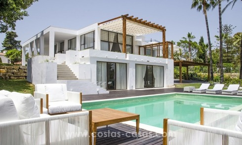 Renovated Modern villa for sale on the Golden Mile, Marbella