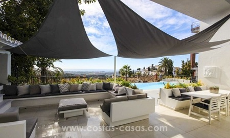 Modern contemporary villa for sale in the area of Marbella – Benahavis