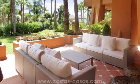 Beautiful luxury apartment for sale near Puerto Banús in Nueva Andalucía, Marbella