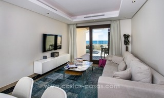 Modern Frontline Beach Penthouse apartment for sale on the New Golden Mile, Marbella - Estepona 3