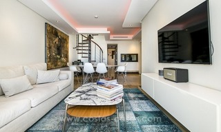 Modern Frontline Beach Penthouse apartment for sale on the New Golden Mile, Marbella - Estepona 4