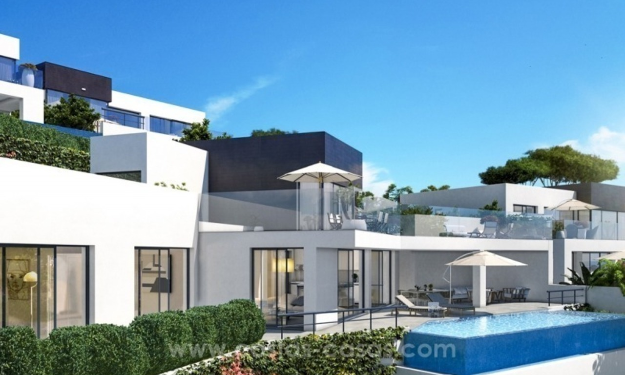 New modern detached villas for sale in La Cala de Mijas, Costa del Sol 3
