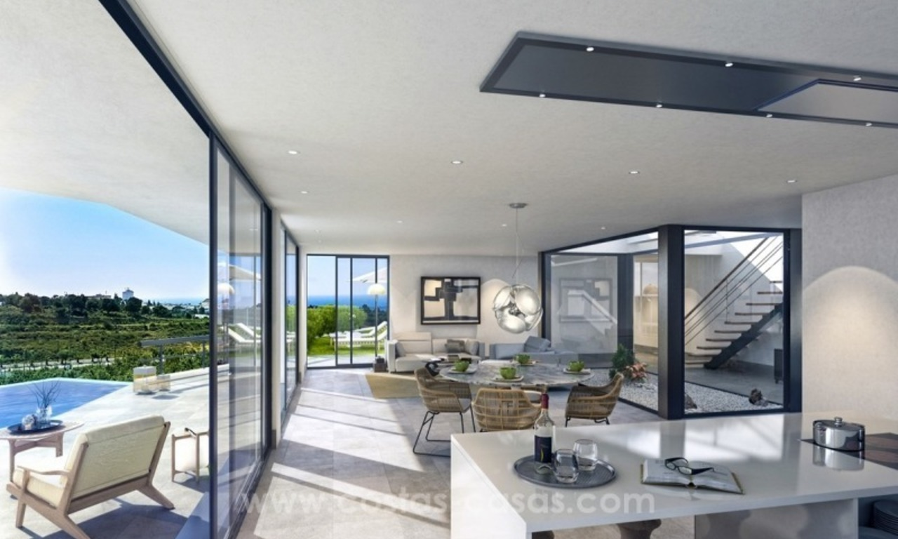 New modern detached villas for sale in La Cala de Mijas, Costa del Sol 5