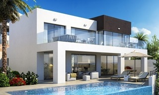 New modern detached villas for sale in La Cala de Mijas, Costa del Sol 0