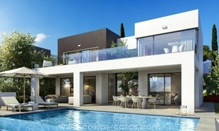 New modern detached villas for sale in La Cala de Mijas, Costa del Sol 1