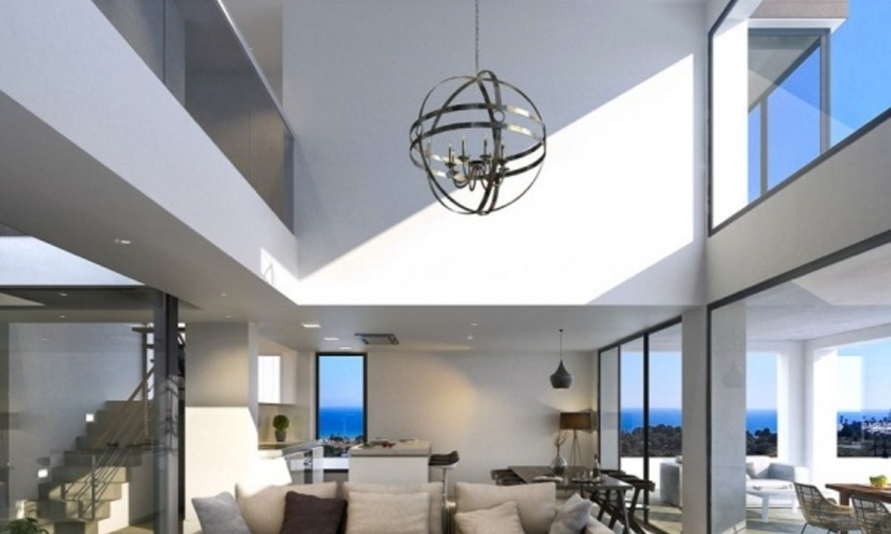 New modern detached villas for sale in La Cala de Mijas, Costa del Sol 7