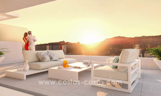 Ready to move in modern designer golf apartments for sale in luxurious grounds between Marbella and Estepona 23733