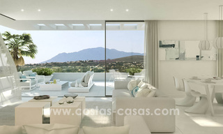 Ready to move in modern designer golf apartments for sale in luxurious grounds between Marbella and Estepona 23735