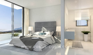 Ready to move in modern designer golf apartments for sale in luxurious grounds between Marbella and Estepona 23736