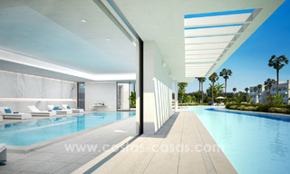 Ready to move in modern designer golf apartments for sale in luxurious grounds between Marbella and Estepona 23742