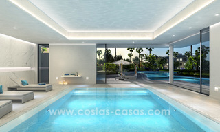 Ready to move in modern designer golf apartments for sale in luxurious grounds between Marbella and Estepona 23743