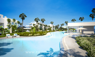 Ready to move in modern designer golf apartments for sale in luxurious grounds between Marbella and Estepona 23744