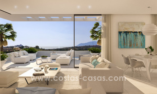 Ready to move in modern designer golf apartments for sale in luxurious grounds between Marbella and Estepona 23746