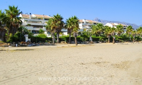 Beachfront luxury apartment for sale at the Golden Mile, Marbella
