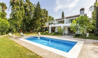 Newly renovated modern villa for sale in Nueva Andalucía, Marbella 1