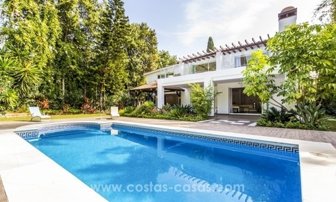 Newly renovated modern villa for sale in Nueva Andalucía, Marbella
