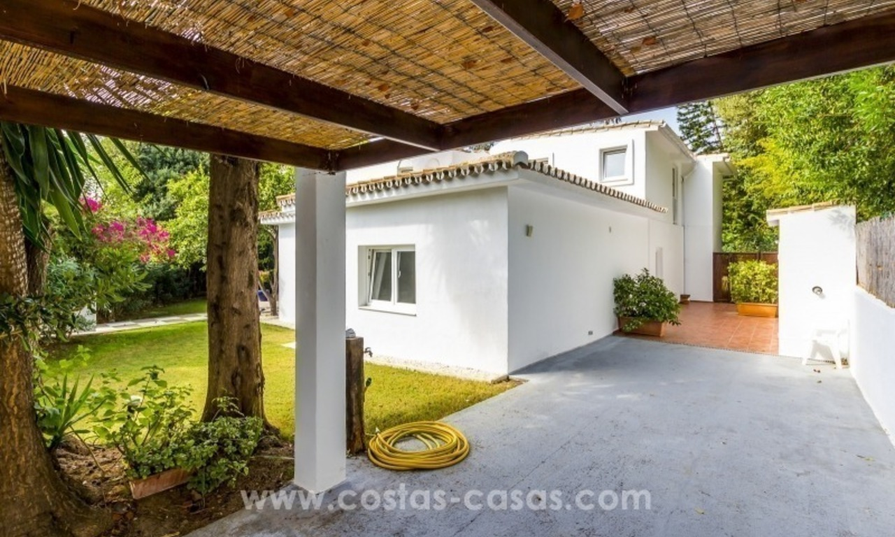 Newly renovated modern villa for sale in Nueva Andalucía, Marbella 4