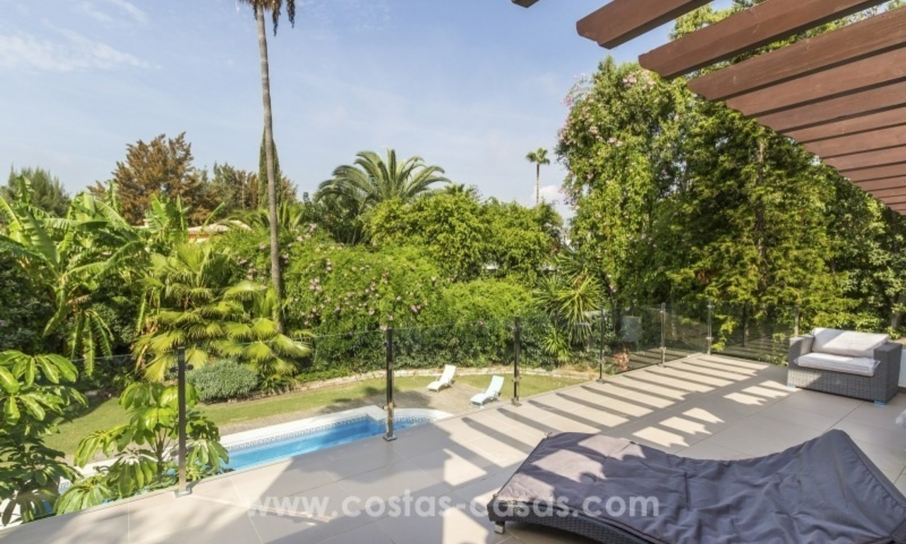 Newly renovated modern villa for sale in Nueva Andalucía, Marbella 7