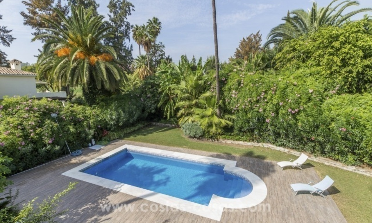 Newly renovated modern villa for sale in Nueva Andalucía, Marbella 8