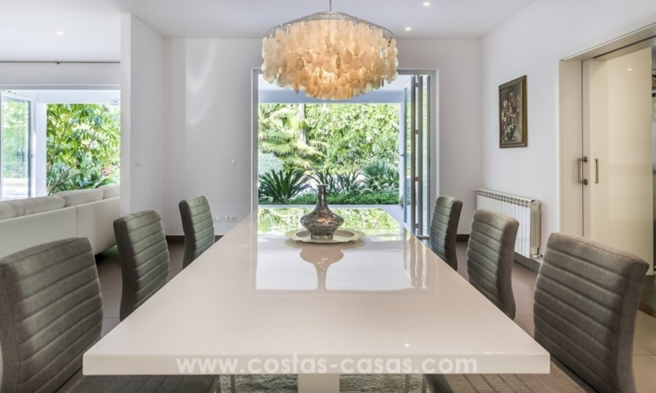 Newly renovated modern villa for sale in Nueva Andalucía, Marbella 16