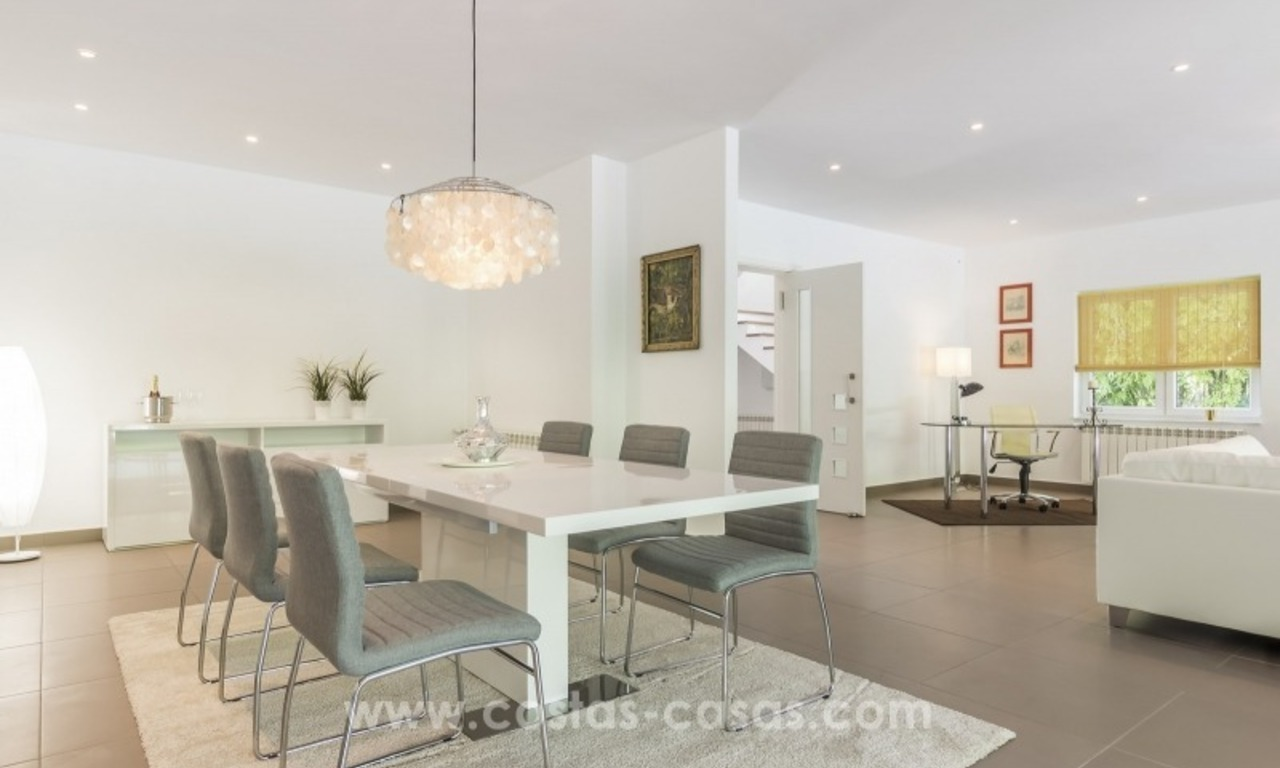 Newly renovated modern villa for sale in Nueva Andalucía, Marbella 12