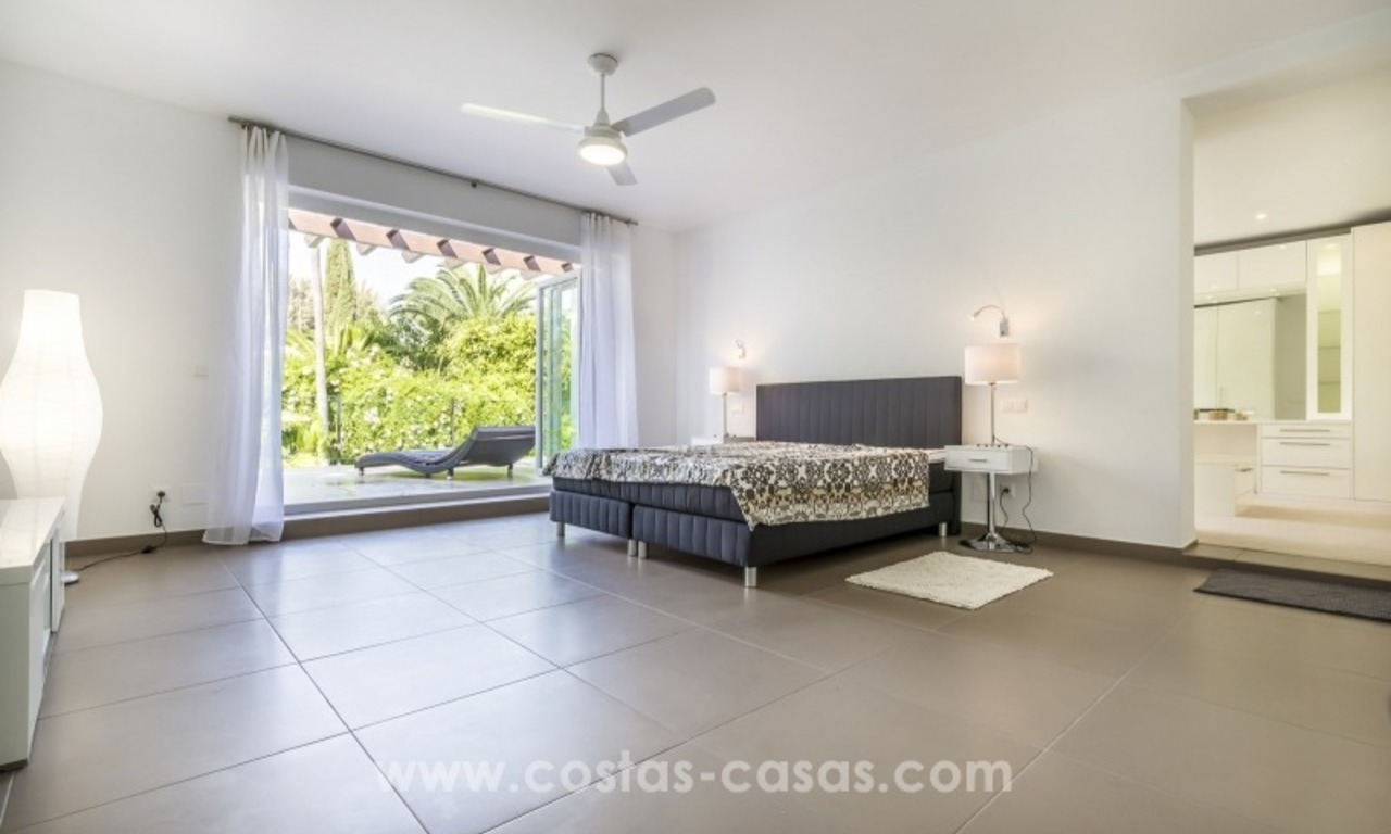Newly renovated modern villa for sale in Nueva Andalucía, Marbella 21