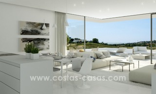 New Modern Designer Golf Apartments for sale in Luxurious Grounds in Benahavis - Marbella - Estepona 4